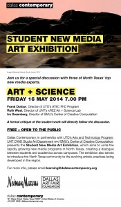 Art + Science Discussion E-Blast
