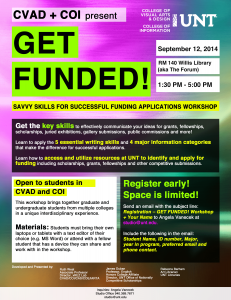 GetFunded Workshop Flyer Fall2014