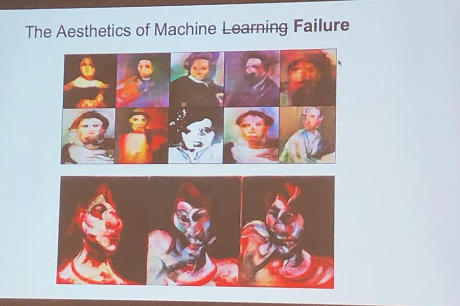 Aesthetics of ML