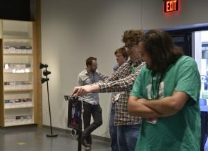 Jared Luke and Robot