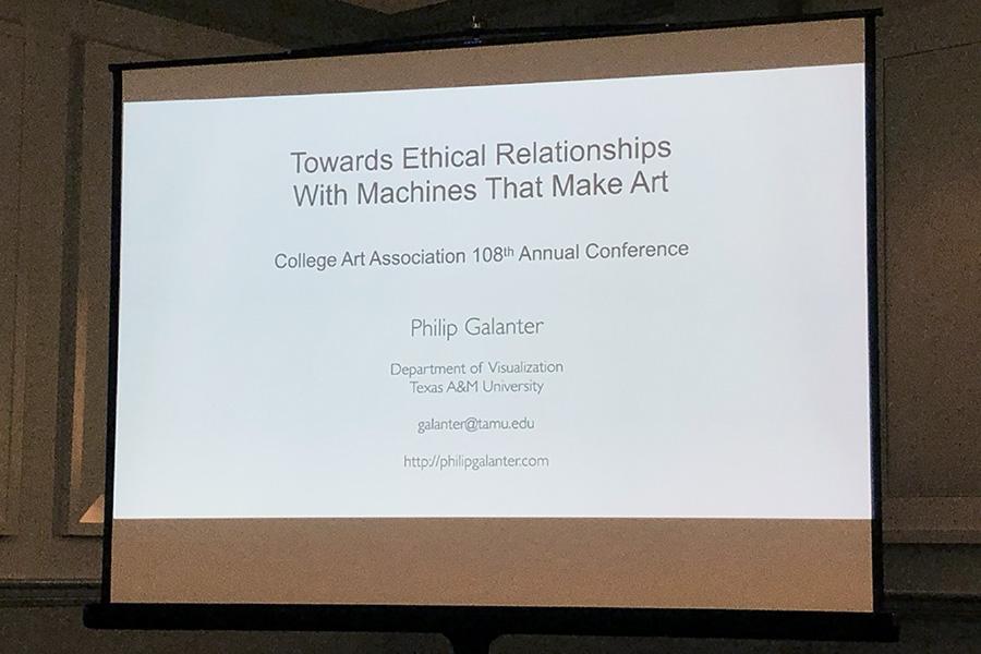 Philip Galanter Presentation